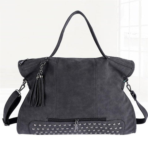 Leather Female Handbag Fashion - Elly Shopping