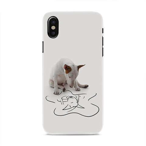 Phone Case Cover style bullterrier dog - Elly Shopping