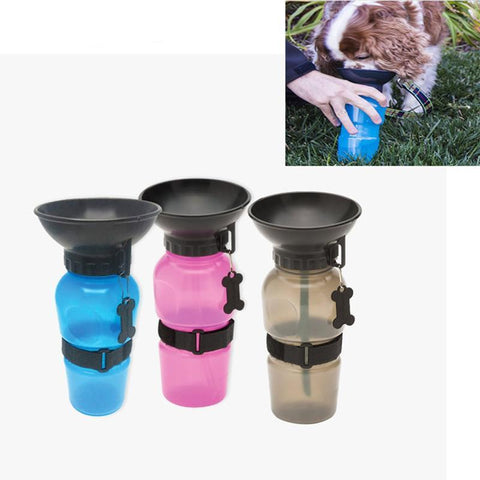 Portable Plastic Pet Water Feeder Pressing - Elly Shopping