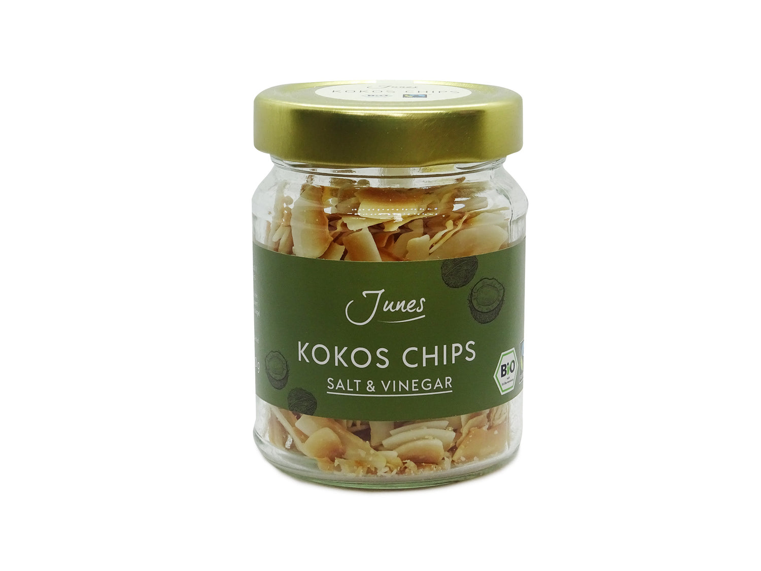 "Bio Kokos-Chips ""Salt & Vinegar"""