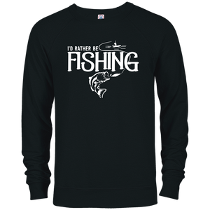 Id Rather Be Fishing - French Terry Crew
