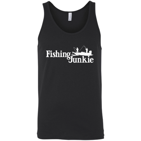 Fishing Junkie Boat Tank Top