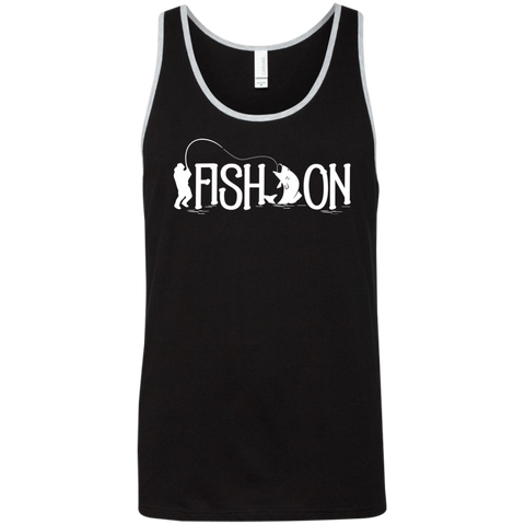 Fish On - Unisex Fishing Tank Top