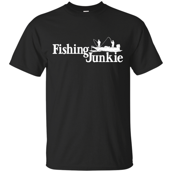 Fishing Junkie - Boat - Fishing T-shirt