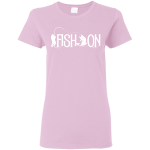 Fish On Ladies T-shirt