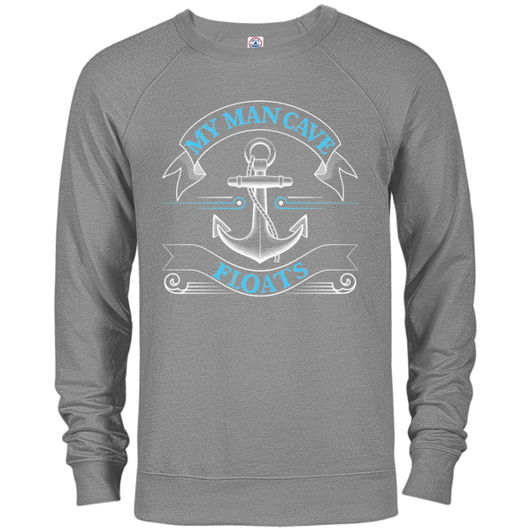 My Man Cave Floats - Long Sleeve Shirts