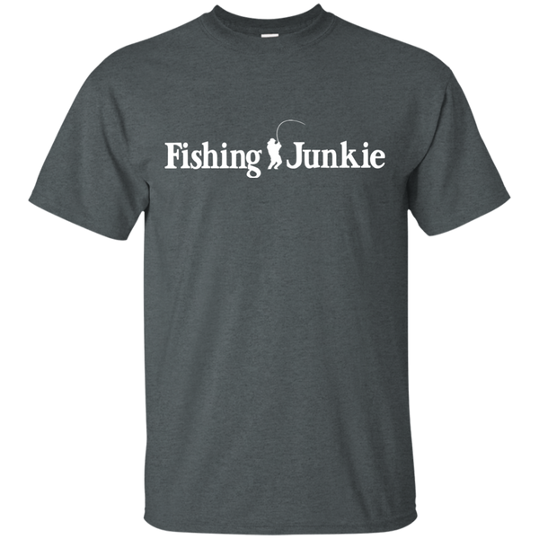 Fishing Junkie - Fisherman - Fishing T-shirt