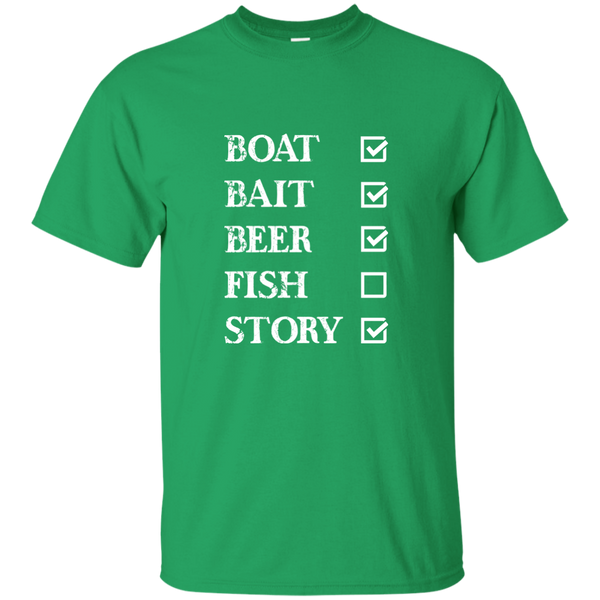 Fishing Checklist- Funny Fishing T-shirt