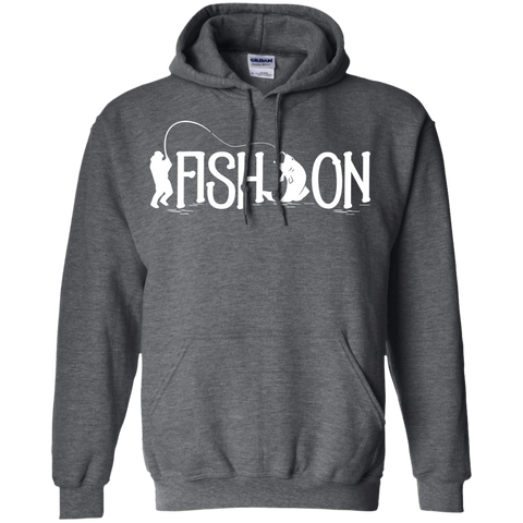 Fish On - Pullover Hoodie 8 oz.