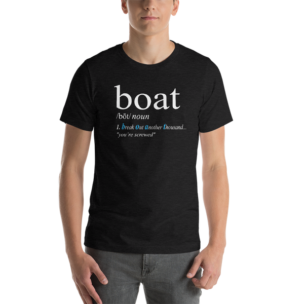 BOAT Definition - Short-Sleeve Unisex T-Shirt