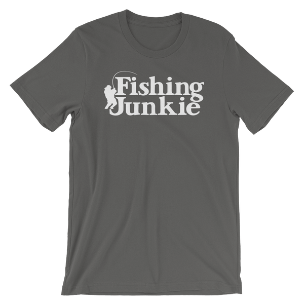 Fishing Junkie - Short-Sleeve Unisex T-Shirt
