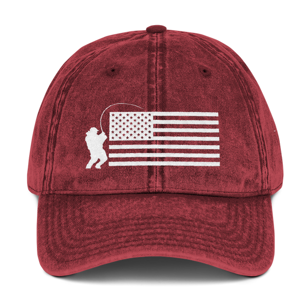 Fish USA - Vintage Cotton Twill Cap