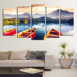 lake canvas wall art