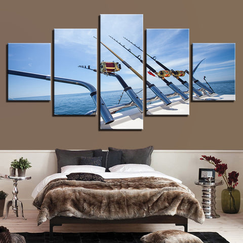 Canvas Wall Art Offshore Fishing