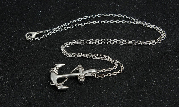 High Quality Stainless Steel Ship Anchor Necklace