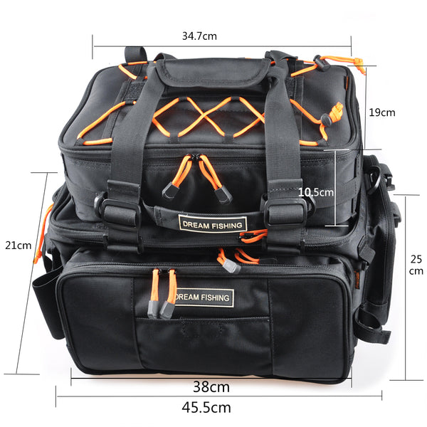 best fishing tackle backpack bag dimensions