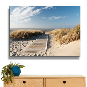 Ocean Canvas Art Beach Print
