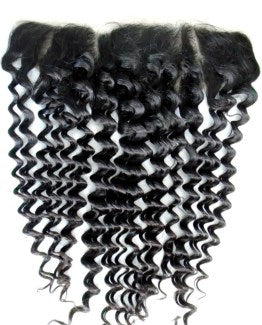 Deep Curl Lace Frontal