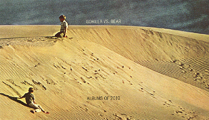 Gorilla vs Bear Top Albums of 2010