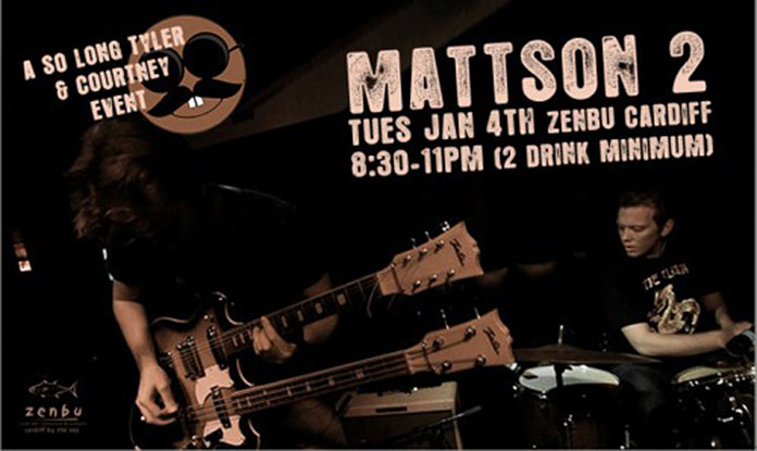 Mattson 2 tonight at Zenbu in Cardiff, CA