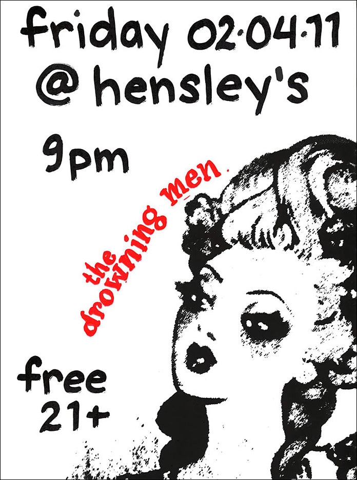The Drowning Men play Hensley's 2/4/11 in Carlsbad