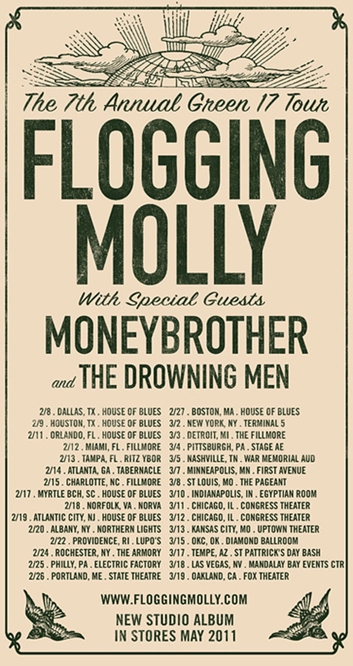 The Drowning Men – Get A Heart @ Electric Factory Philadelphia
