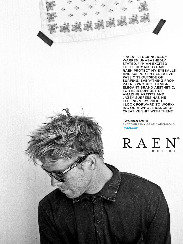 RAEN Optics welcomes Warren Smith to the family!