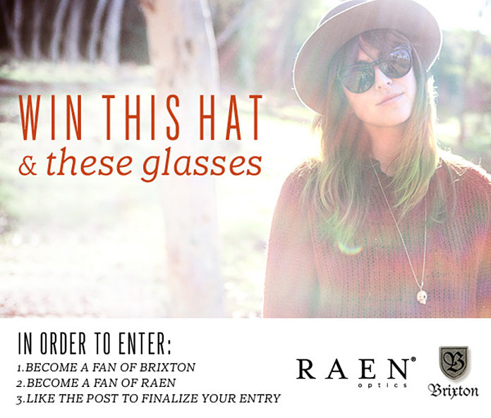 WIN IT: Brixton + RAEN Giveaway