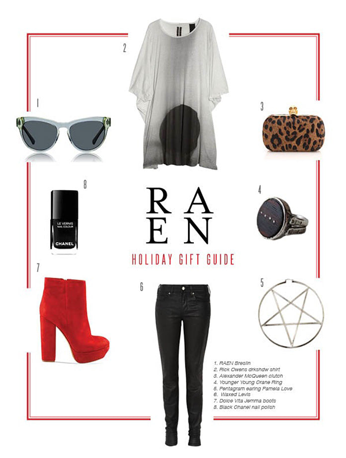 RAEN Holiday Gift Guide - For Her