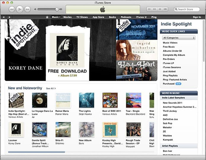 Korey Dane Single of the Week on iTunes