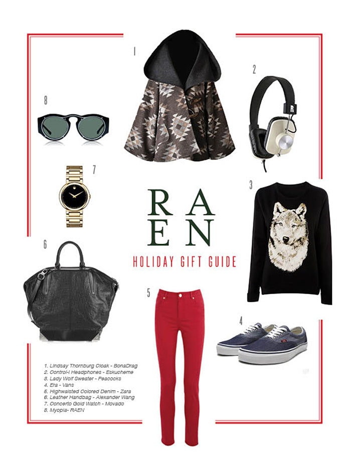 RAEN Holiday Gift Guide - For Her… Again