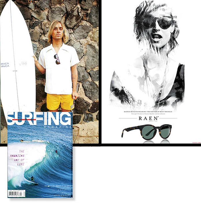 RAEN in Surfing Magazine