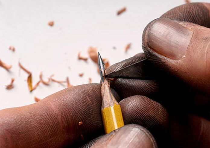 Handmade, Heartfelt - Pencil Sculpting
