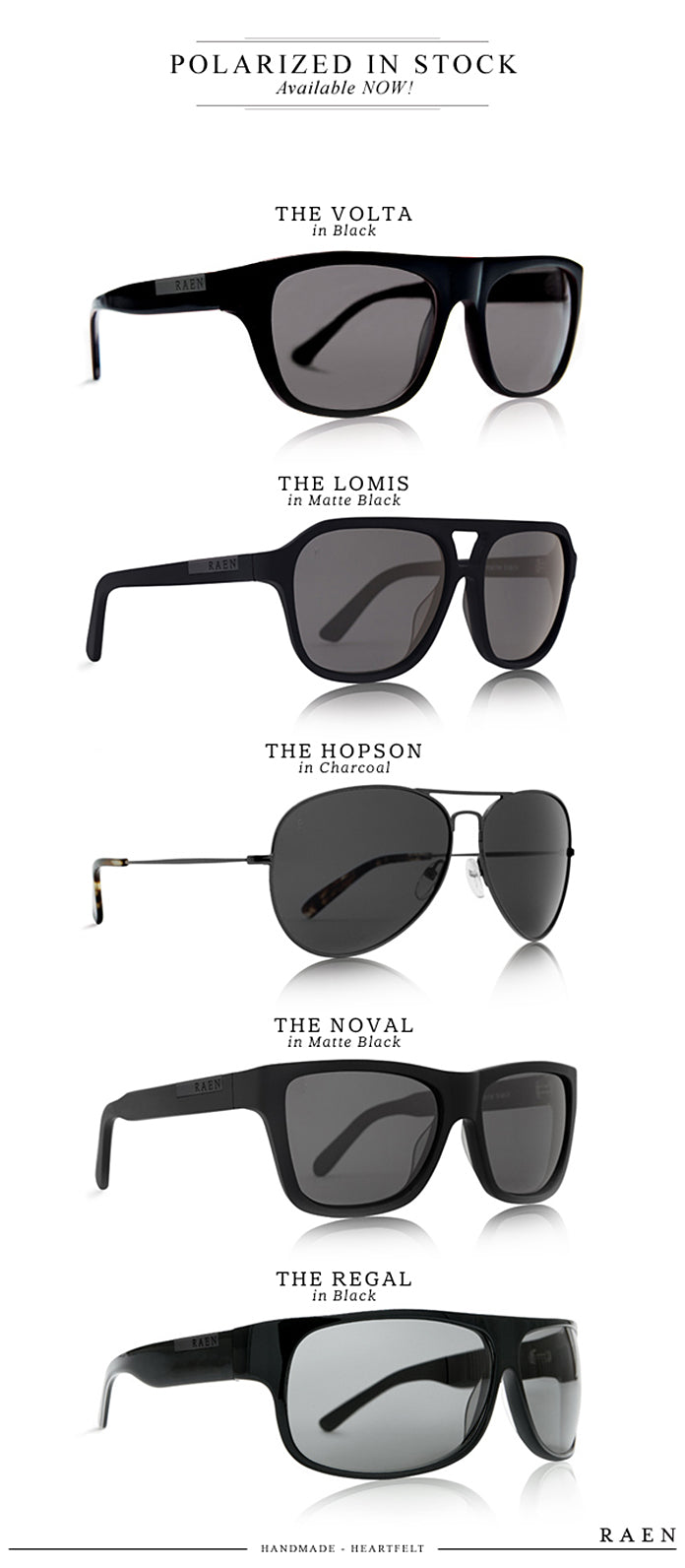 Wear Protection: RAEN Polarized