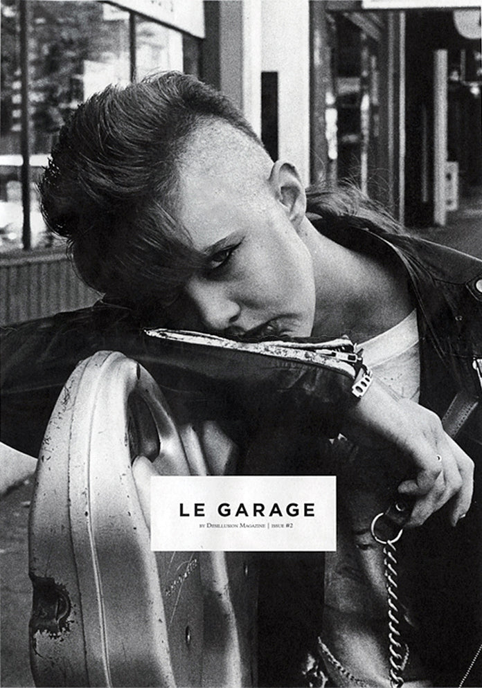 R A E N featured in Le Garage by Desillusion Magazine