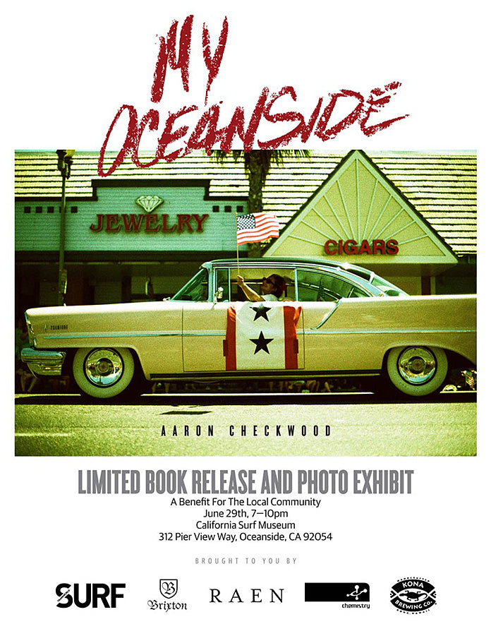 Aaron Checkwood-Limited book release and photo exhibit
