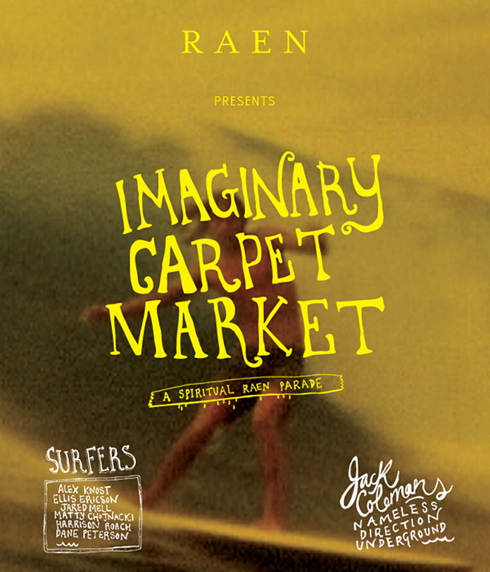 Imaginary Carpet Market | A Spiritual RAEN Parade by Jack Colemen