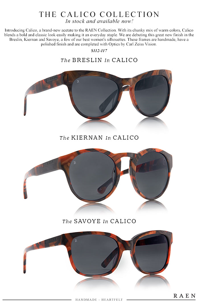 Introducing CALICO in the RAEN Collection