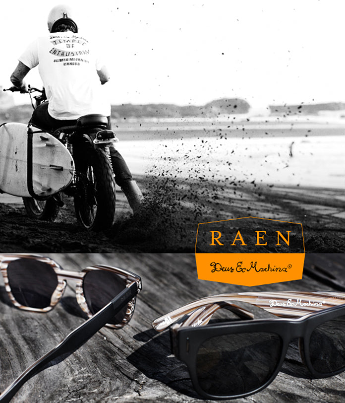 New RAEN x Deus ex Machina Collaboration!