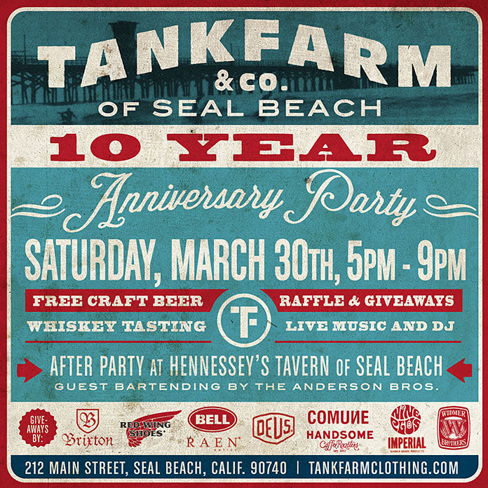 Come Party with RAEN this SATURDAY at TANK FARM!