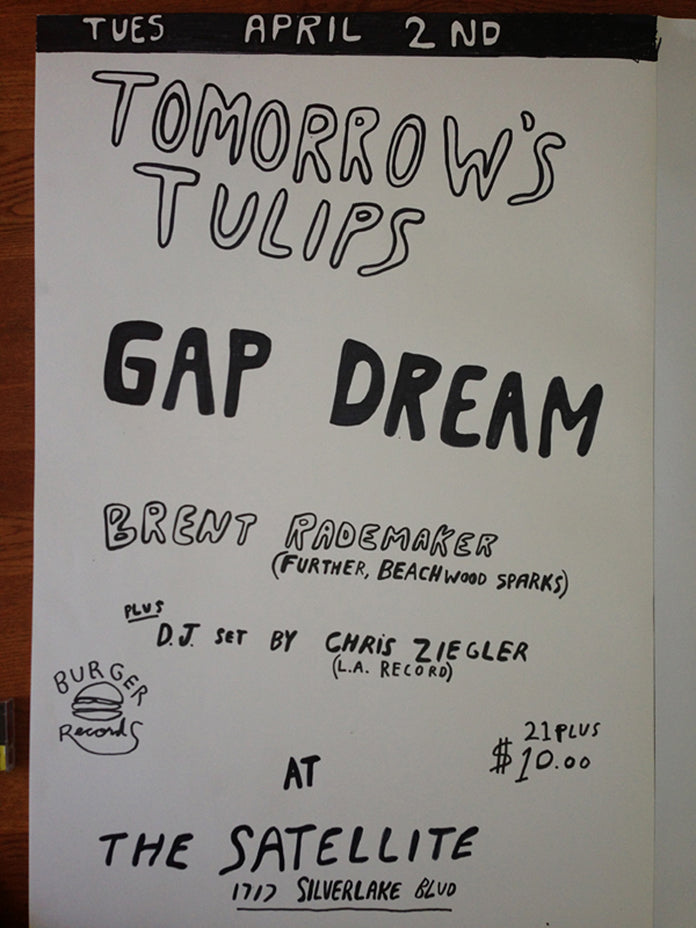 TOMMOROW'S TULIPS Playing on TUESDAY!