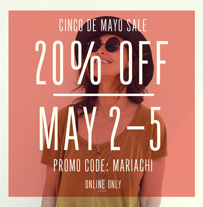 CINCO de MAYO SALE!