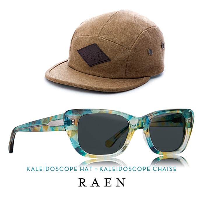 Kaleidoscope Hat + Chaise