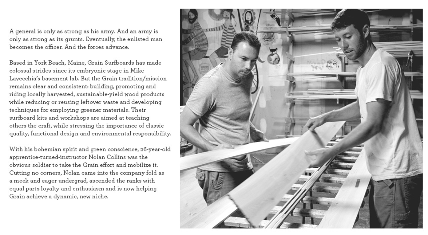 DIY - Nolan Collins of Grain Surfboards