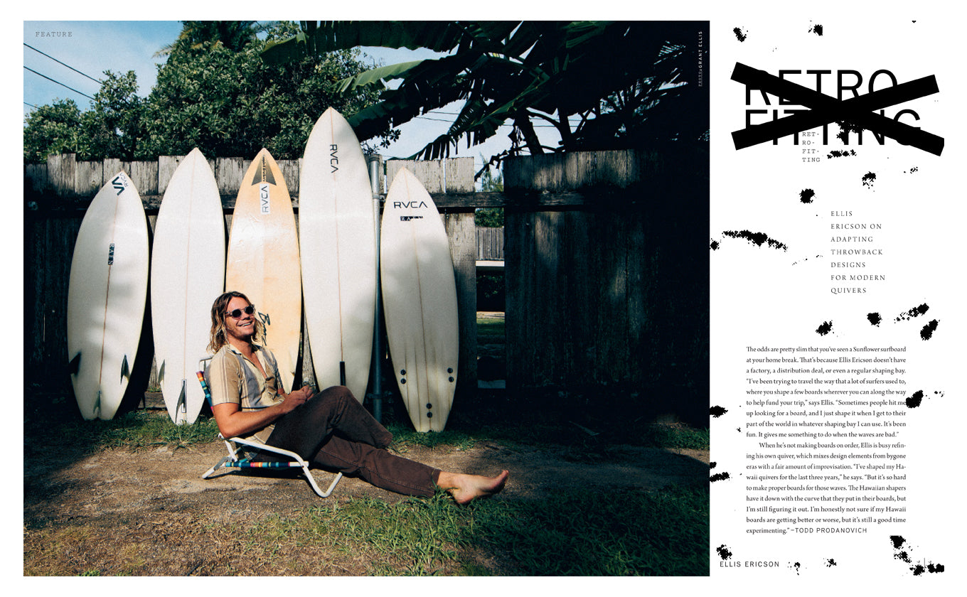 Ellis in the Latest Surfer