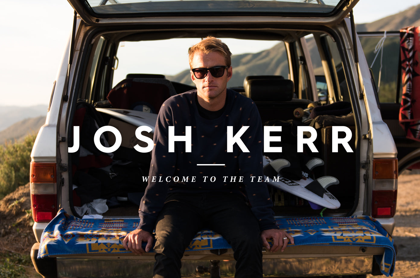 RAEN WELCOMES JOSH KERR