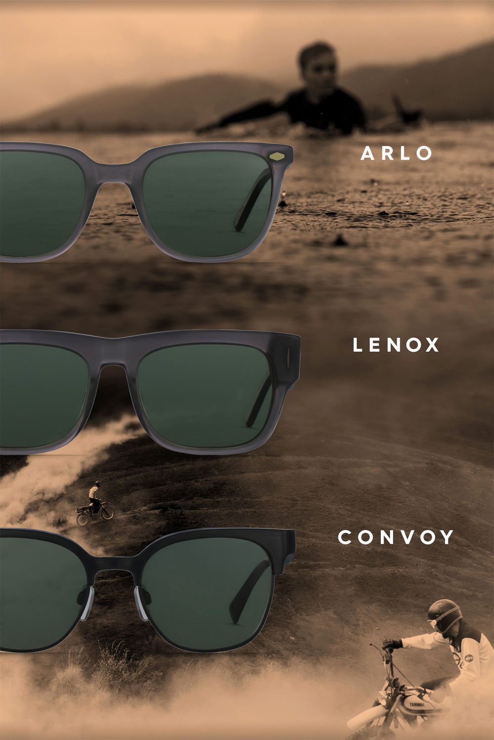 Introducing Arlo Sunglasses & The New Deus x RAEN Collaboration
