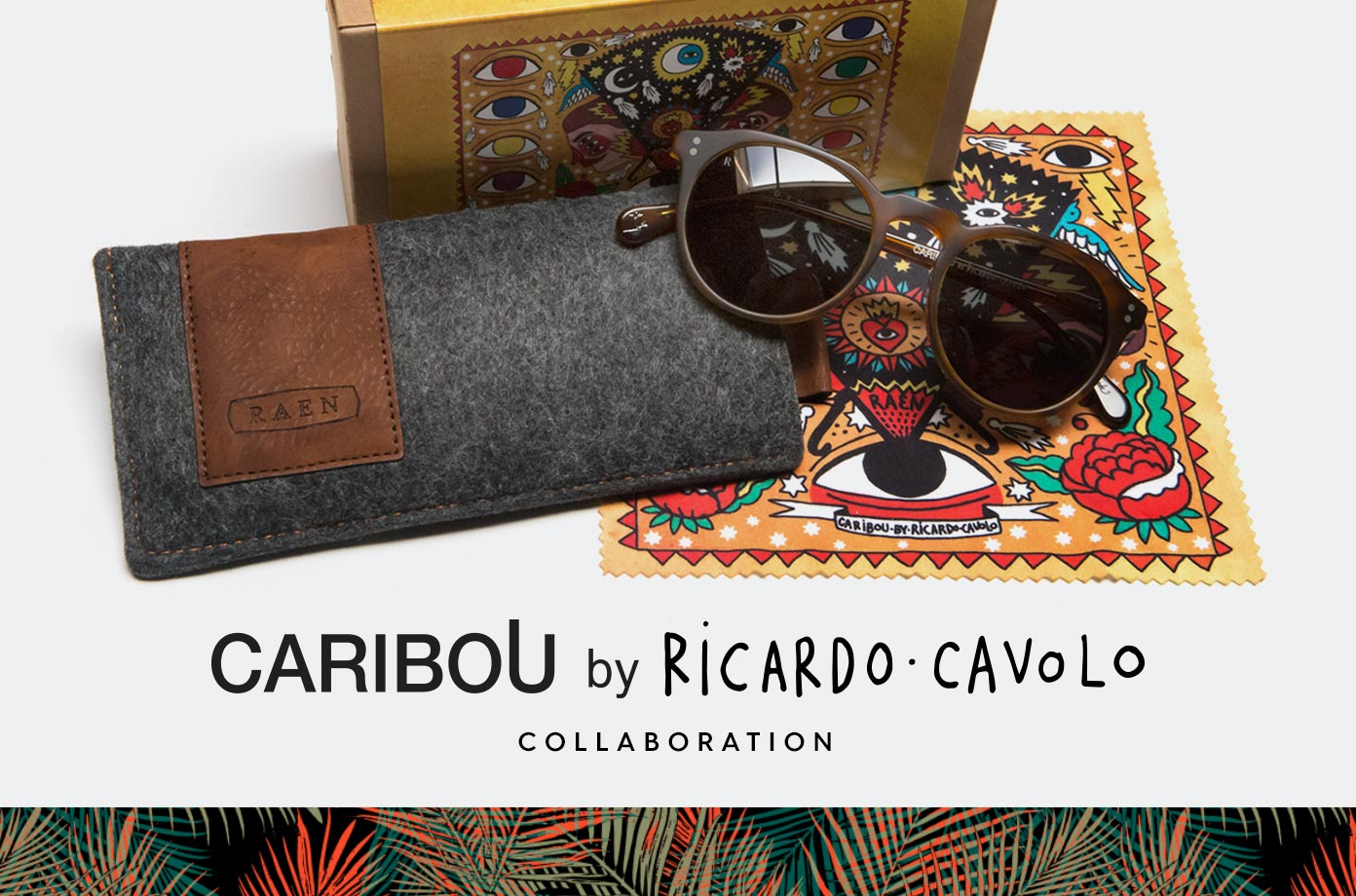 CARIBOU BY RICARDO CAVOLO COLLABORATION