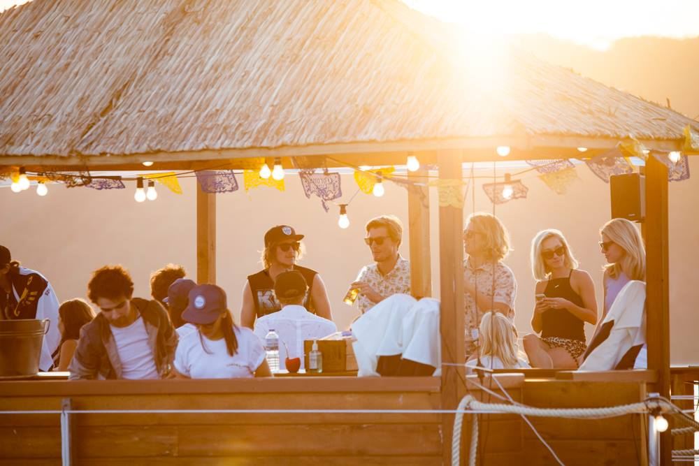 Corona Secret Sunset Bar