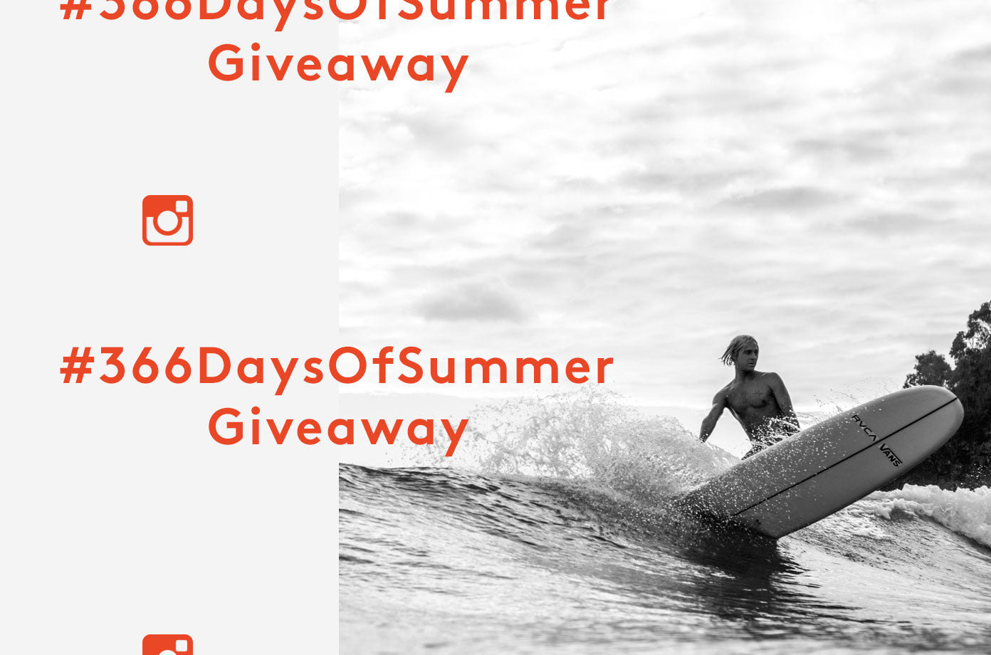 366 Days Of Summer Giveaway